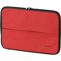 エレコム ZSB-IB022RD MacBook/MacBook Air13インチ用 インナーバッグ ZEROSHOCK/レッド画像