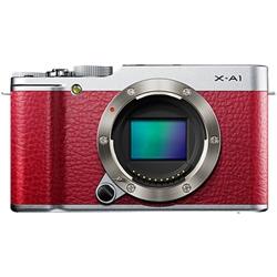 富士フイルム FX-X-A1R レンズ交換式プレミアムカメラ X-A1 レッド