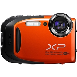 富士フイルム FX-XP70OR デジタルカメラ FinePix XP70 オレンジ