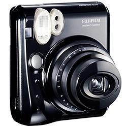 富士フイルム INS MINI 50S BL インスタントカメラ instax mini 50S チェキ (ピアノブラック)