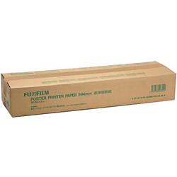 ioPLAZA【アイ・オー・データ直販サイト】富士フイルム PP DIP W BK 594MMX30.3M 2K ポスタープリンター直接感熱紙(白地黒発色)A1幅2本入