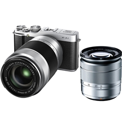富士フイルム X-A1S/1650/50230KIT レンズ交換式プレミアムカメラ X-A1 :シルバー