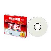 日立マクセル DRW47PWB. S1P5S A データ用DVD-RW 2倍 記憶容量4.7GB 5枚パック1枚ずつプラケース入