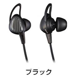 ioPLAZA【アイ・オー・データ直販サイト】日立マクセル HP-S20-BK スポーツ用イヤホン ブラック