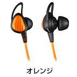 ioPLAZA【アイ・オー・データ直販サイト】日立マクセル HP-S20-OR スポーツ用イヤホン オレンジ