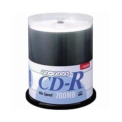 イメーション CDR80Z PWRx100SP CD-R 700MB フリープリント ホワイト 100枚パック スピンドルケース入