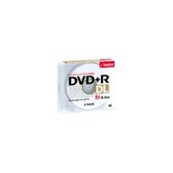 イメーション DVD+R8.5PWCx3J DVD+R DL PCデータ用 8.5GB プリンタブルホワイトプラケース入り3枚
