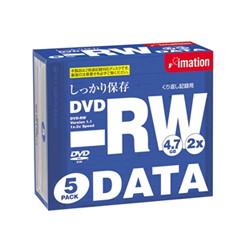 イメーション DVD-RW 4.7PBEx5 DVD-RW 4.7GB データ用 5枚パック