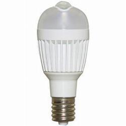 ioPLAZA【アイ・オー・データ直販サイト】アイリスオーヤマ LDA3L-H-E17SV LED電球 人感センサー付 小形電球 垂直取付タイプ 電球色 250lm