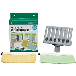 アイリスオーヤマ STMP-006 スチームクリーナー ガラス拭き掃除セット