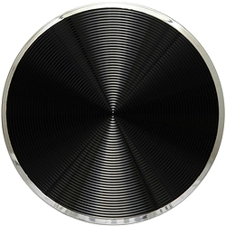 ケンコー・トキナー 856727 フリップキャップ 着せ替えパネル 58mm スピン (ブリリアントブラック)