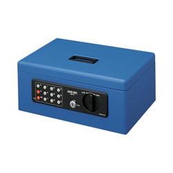 コクヨS&T CB-T11B 手提げ金庫(テンキー付き) A4 青