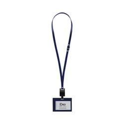 コクヨS&T NM-RK195-1DB ネームカードホルダー 名刺・IDカード用 ヨコ型 紺色