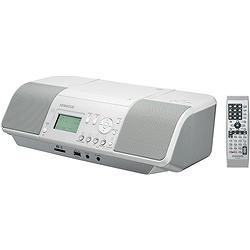 ケンウッド CLX-30-W CD/SD/USBパーソナルオーディオシステム(ホワイト)