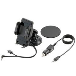 ロジテック LAT-MPSH01 FMトランスミッター内蔵スマートフォンホルダー