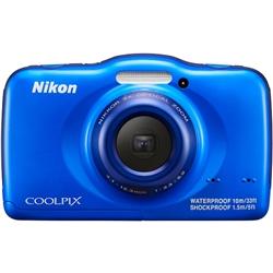 ニコン COOLPIXS32BL ニコン クールピクス S32 BL ブルー