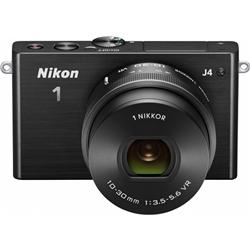 ニコン N1J4HPLKBK Nikon1 J4 標準パワーズームレンズキット ブラック