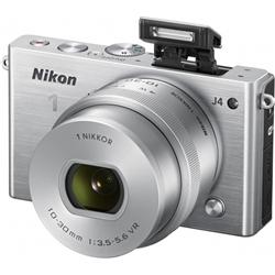 ニコン N1J4HPLKSL Nikon1 J4 標準パワーズームレンズキット シルバー