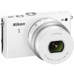 ニコン N1J4HPLKWH Nikon1 J4 標準パワーズームレンズキット ホワイト