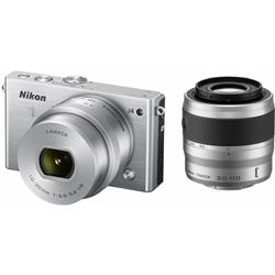 ニコン N1J4WZSL Nikon1 J4 ダブルズームキット シルバー