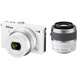 ニコン N1J4WZWH Nikon1 J4 ダブルズームキット ホワイト