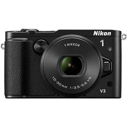 ニコン N1V3HPLKBK Nikon 1 V3 標準パワーズームレンズキット ブラック