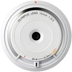 ioPLAZA【アイ・オー・データ直販サイト】オリンパス BCL-1580 WHT ボディーキャップレンズ (ホワイト)