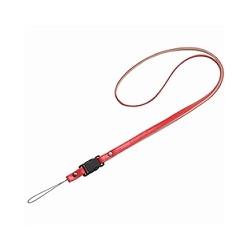 ioPLAZA【アイ・オー・データ直販サイト】オリンパス CNS-10 RED 本革ネックストラップ (レッド)