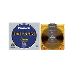 ioPLAZA【アイ・オー・データ直販サイト】パナソニック LM-HB94L DVD-RAMディスク 9.4GB(両面 / 3倍速)
