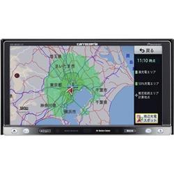 パイオニア AVIC-MRZ007-EV 7V型ワイドVGA地上デジタルTV/DVD-V/CD/チューナー/EV車用メモリーナビ