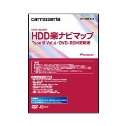 パイオニア CNDV-R3600H HDD楽ナビ マップ TypeIII Vol.6