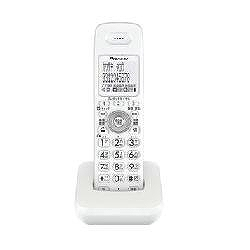 パイオニア TF-EK30-W デジタルコードレス電話用増設子機 ホワイト TF-EK30-W