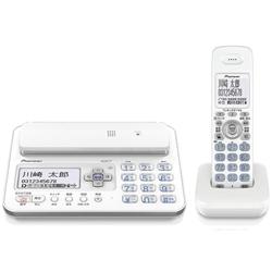 パイオニア TF-FA70W-W デジタルフルコードレス留守番電話子機1台 ホワイト