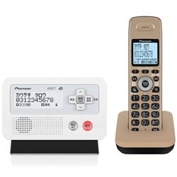 パイオニア デジタルフルコードレス留守番電話機 子機1台 TF-FD30S-TK 電話機