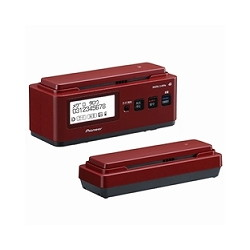 パイオニア TF-FN2027-R デジタルコードレス留守電 フル102タイプ レッド TF FN2027 R