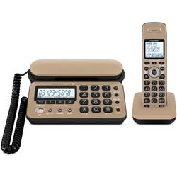パイオニア TF-SD10S-TK デジタルコードレス留守番電話 キャラメルブラック 子機1台タイプ TF-SD10S-TK