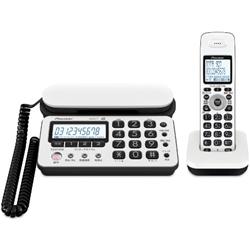 パイオニア TF-SD10S-WK デジタルコードレス留守番電話 ホワイトブラック 子機1台タイプ TF-SD10S-WK