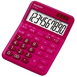 ioPLAZA【アイ・オー・データ直販サイト】シャープ EL-M334-RX 電卓10桁(ミニナイスサイズタイプ)レッド系