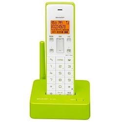 シャープ JD-S06CL-G デジタルコードレス電話機(子機1機)グリーン系