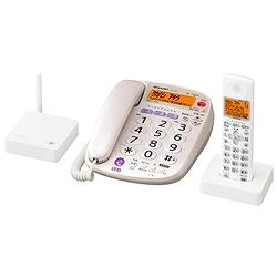 シャープ JD-VF1CL DECT1.9GHz快適デジタル親・子電話線コードレス電話機(子機1台タイプ) ホワイト系