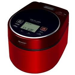 シャープ ヘルシオ炊飯器 KS-GX10A-R 炊飯器