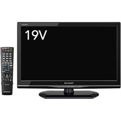 シャープ LC-19K90-B 19V型地上・BS・110度CSデジタルハイビジョンLED液晶テレビ 外付HDD対応 ブラック系