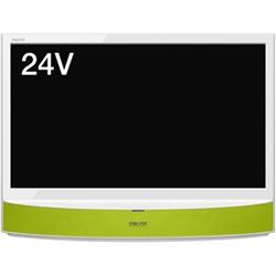 シャープ LC-24MX1-G 24V型地上・BS・110度CSデジタルハイビジョン液晶テレビ MHL・外付HDD対応 グリーン系