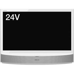シャープ LC-24MX1-S 24V型地上・BS・110度CSデジタルハイビジョン液晶テレビ MHL・外付HDD対応 シルバー系