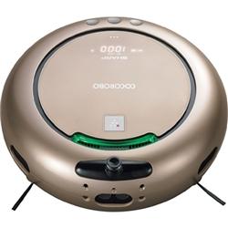 シャープ RX-V200-N 人工知能・音声認識・センサー・プラズマクラスター搭載ロボット掃除機 ゴールド系