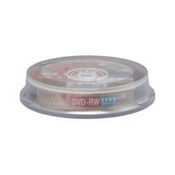 ソニー 10DMW12HXP ビデオ用書換型 DVD-RW120分(2倍速対応 / カラーコレクションディスク)10枚スピンドルP