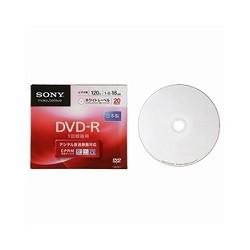 ソニー 20DMR12KPS 日本製ビデオ用DVD-R CPRM対応 120分 16倍速 プリンタブル 20枚P