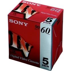 ソニー 5DVM60R3 ミニDVカセット 60分 ICメモリーなし 5本組