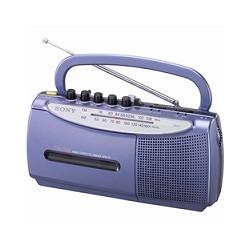 ソニー CFM-E5/L ラジオカセットコーダー E5 ブルー