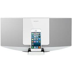 ソニー CMT-V10IPN/W iPod/iPhone用ドックコンポ V10IP ホワイト